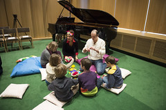 LAB - La (petite) Flûte enchantée (enoa media) Tags: magic flute immersive participatory children sophie van der stegen music chapel heather fairbairn ana seara opera lab