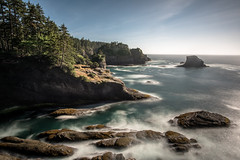 Cape Flattery (luke.me.up) Tags: ocean longexposure seascape landscape coast nikon rocks pacificocean capeflattery d810 nd110