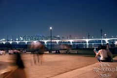 Seoul, Hangang Park || ag-foto.pl (agnieszka.gofron) Tags: city bridge night river lights asia korea seoul citylights southkorea seul hangang seoulbynight riverhangang