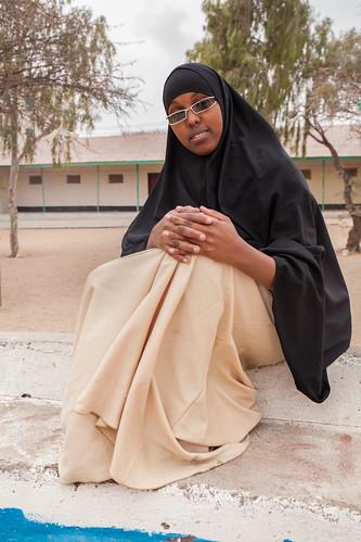 School girl portrait, Hargeisa