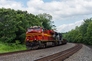 NS 61N - Pittsburgh Line - MP 128