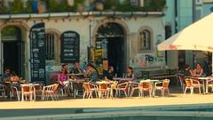 It's hot in the city ... (Erich Hochstöger) Tags: street city people hot bar linz lumix austria österreich menschen panasonic stadt oberösterreich heis lokal upperaustria fz150