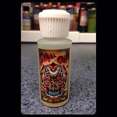 We now offer tattoo aftercare Pooch's Skull Oil, only at Altered State Tattoo #aftercare #alteredstatetattoo #poochart