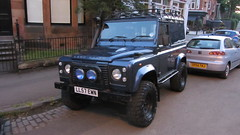 A Great Looking Land Rover Defender Spotted In Glasgow Scotland - 1 Of 3 (Kelvin64) Tags: scotland looking glasgow great rover land spotted defender in a