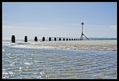 WEST WITTERING. 31 (adriangeephotography) Tags: sea england beach water photography sussex coast seaside sand nikon south adrian gee groyne nikon1v1