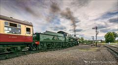 7812  Erlestoke Manor (brianac37) Tags: railway steamengine gwr severnvalleyrailway kidderminster greatwesternrailway 7812 tokinaaf1116mmf28 erlestokemanor kidderminstertown
