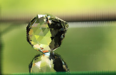 Nineteen (iofdi) Tags: june ball crystal wave elements faceted greens 100possibilities