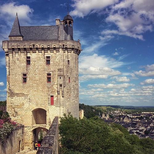 Chinon #Chinon #France #Francia #fortezza #forteresse #Loira #igersloire #castello #castle #igersfrance #nexus5 #nexus #igersmodena #ig_modena #potd #pictureoftheday #photooftheday