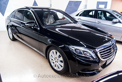 Mercedes - Benz Clase S 350 BT Largo ( w222 ) - Negro Obsidiana - Piel Marrón