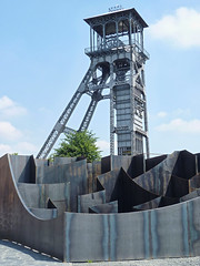 Gijs Van Vaerenbergh - Labyrint (2015) (fb81) Tags: architecture modern belgium belgique steel maze van gijs limburg genk labyrint cmine vaerenbergh