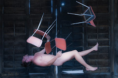 Levitat: Ego & Chairs (Olivb77) Tags: naked nude chairs chaises lvitation