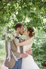 O&K (lena_dolgova) Tags: wedding light love groom bride engagement couple outdoor weddingphotography