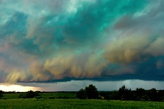 Blue Green Boundary (thefisch1) Tags: storm interesting nikon calendar wind awesome front pasture kansas roll thunderstorm nikkor topeka frontal boundary clound turbulence flinthills oogle d300