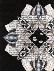 and so the story ends 001 (Jo in NZ) Tags: foundpoetry zentangle nzjo andsothestoryends