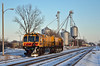 Loram switch point grinder - Deshler,  Ohio (dti407) Tags: 2016 deshler ohio nikon d7000 snow loram grinder elevator trains track railroad csx