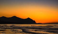 Machlud Dros Yr Eifl - Sunset over Yr Eifl (Paul Sivyer) Tags: yreifl sunset beach aberdesach wildwalescom paulsivyer