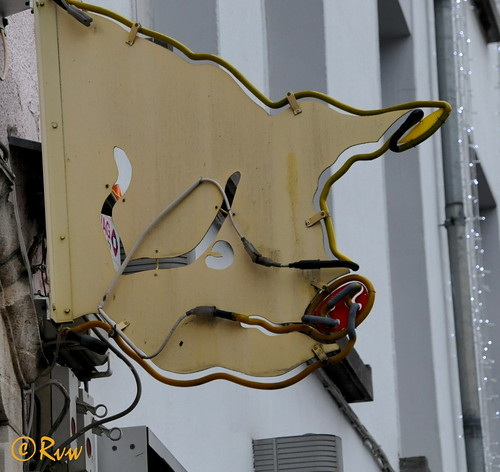 """Brussels -- Quai au Bois à Brûler 15 """"Au cochon d'or"""""""