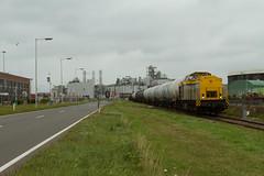 HSL 203 102 + Ethanoltrein (Durk Houtsma.) Tags: hsll br203 ethanol v100 hsl hsllogistics hsllogistik 203102 vopak welplaatweg botlek gatx lotos botlekrotterdam zuidholland nederland nl