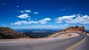 P7070104 (Joe-Snider) Tags: colorado2016olympusfisheye pikes peak colorado landscape road hairpin clouds mountains