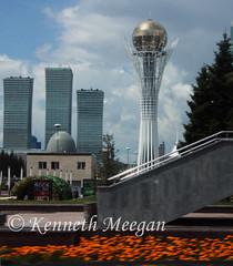 Bayterek Tower (Ken Meegan) Tags: bayterektower astana kazakhstan 172016