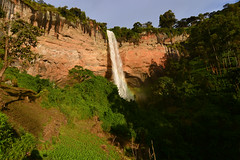 The lower Sipi waterfall (supersky77) Tags: sipi waterfall fall cascata cliff parete river fiume uganda africa rainbow halo arcobaleno