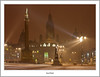 George Square In A Snow storm (flatfoot471) Tags: 2009 georgesquare glasgow landscape night normal scotland statue unitedkingdom urban winter cityofglasgow gbr