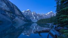 Banff Blues at Moraine (Ken Krach Photography) Tags: banffnationalpark lakemoraine