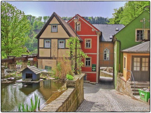 Schmilka - Mühle