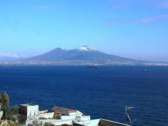 Vesuvio - Naples (rinuccio1983) Tags: vesuvio napoli naples neve snow ice winter sea panorama beautiful view blue love juvemerda italia italy vulcano mountain shot nice best great boss