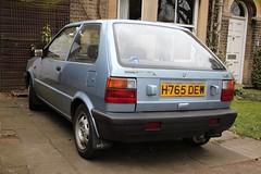 H765 DEW (2) (Nivek.Old.Gold) Tags: 1990 nissan micra ls 3door 988cc marshallcarcentre
