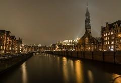 Winter in Hamburg Speicherstadt (martintimmann) Tags: daarklands