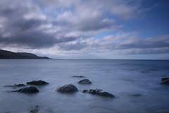 Sea (jillyspoon) Tags: canon canon70d leefilters stones rocks scotland dumfriesandgalloway wigtownshire southwestscotland longexposure irishsea solwayfirth clouds movement experiment monreith