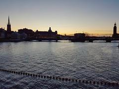Stockholm Sunset View (Giulia La Torre) Tags: stockholm stoccolma svezia sweden sverige sunset tramonto skyline view sea winter north cold scandinavia