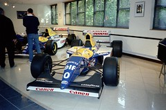Damon Hill's 1993 Williams-Renault FW15C - Williams Grand Prix Collection, October 1996 (Dave_Johnson) Tags: camel canon bull damonhill fw15 fw15c williams renault frankwilliams williamsf1 williamsgrandprixengineering williamsheritagecollection williamsgrandprixcollection formula1 formulaone f1 grandprix museum collection grove wantage car racingcar automobile
