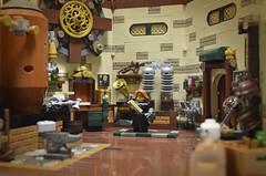 SP 1 (Klikstyle) Tags: foitsop lego steampunk diorama vignette laboratory