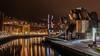 Museo Guggenheim Bilbao (Héctor Monje Martínez) Tags: museo guggenheim bilbao españa spain night noche paísvasco paisaje canon 1200d nice beautiful
