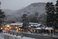 DSC_3017 (emikod7000) Tags: 嵐山 京都 日本 雪 村