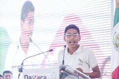 Inicio del programa Escuelas al CIEN en #Oaxaca