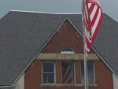OUR GOD, And Our Country .... (~ Cindy~) Tags: flag reflections window red whiteblue theflag ourgodourcountry godblessamerica onemoretime 2chronicles 714 tennessee harriman andcountry god thisnation needs prayerandtototurnbacktohim hff