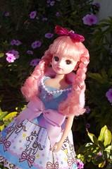 Sissy (Sin.da.a.ta.ri.en) Tags: takara tomy licca chan fashion doll pink hair merry go round