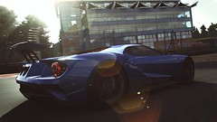 Ford GT 2017 (polyneutron) Tags: car photography ford gt 2017 blue supercar forza motorsport fm6 forza6 apex pc photomode motionblur light lensflare
