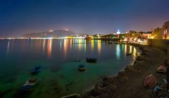 Trapani (Michele Naro) Tags: trapani night nightshot sicily sicilia sizilien sicile see sea samyang14mmf28 italien italy italia italie iamnikon nikond80 nikon longexposure langzeitbelichtung