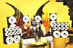 11_Bat_Cave (bbchai) Tags: lego batman batcave robin poster movie mobile segway