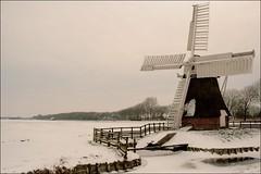 Het witte Lam (TeunisHaveman) Tags: panoramio501850485346627 molen mills wittelam zuidwolde groningen winter sneeuw ijs polder poldermolen wieken