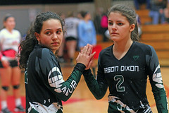 IMG_5618 (SJH Foto) Tags: girls volleyball teen teenager team mason dixon xtreme u16s substitution sub rotation