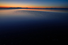 琵琶湖・夕景26・Sunset over Lake Biwa