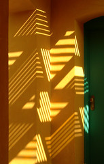 Wall, Light and Shadows: Sheraton Miramar Resort El Gouna (mnadi) Tags: flowers light sunset red summer sky orange sun holiday abstract flower colour yellow garden warm colours shadows artistic outdoor stripes redsea curves creative egypt warmth sunny grill resort arabic clear gouna egyptian styles minimalism sheraton ethnic spa miramar hurghada michaelgraves bedouin  nubian elgouna bougainvilleas     impressedbeauty