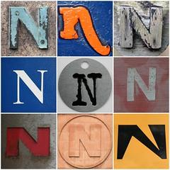 N Mosaic (Leo Reynolds) Tags: fdsflickrtoys n photomosaic 10up3 notoneletter 9panel mosaicletter hpexif groupphotomosaics 13000th xintx xratio11x xleol30x xphotomosaicx group9panel