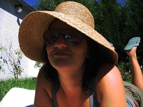 blue summer hat sunglasses farm thong futon mic dairy robertson