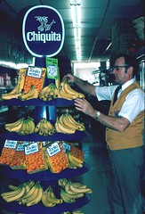 1976 Slide: IGA Supermarket (Neato Coolville) Tags: found store slide supermarket badge 70s grocery 1970s chiquita iga